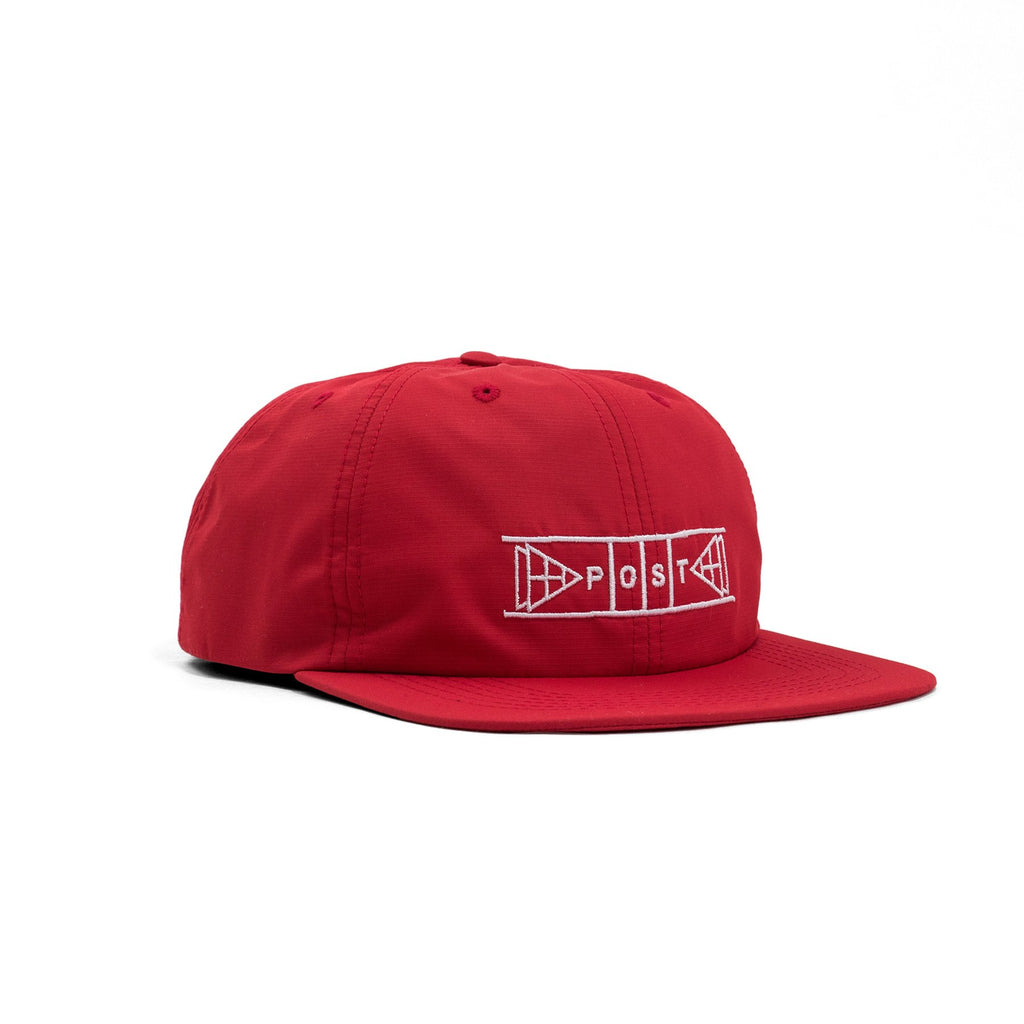 POST SHUFFLEBOARD CAP RED