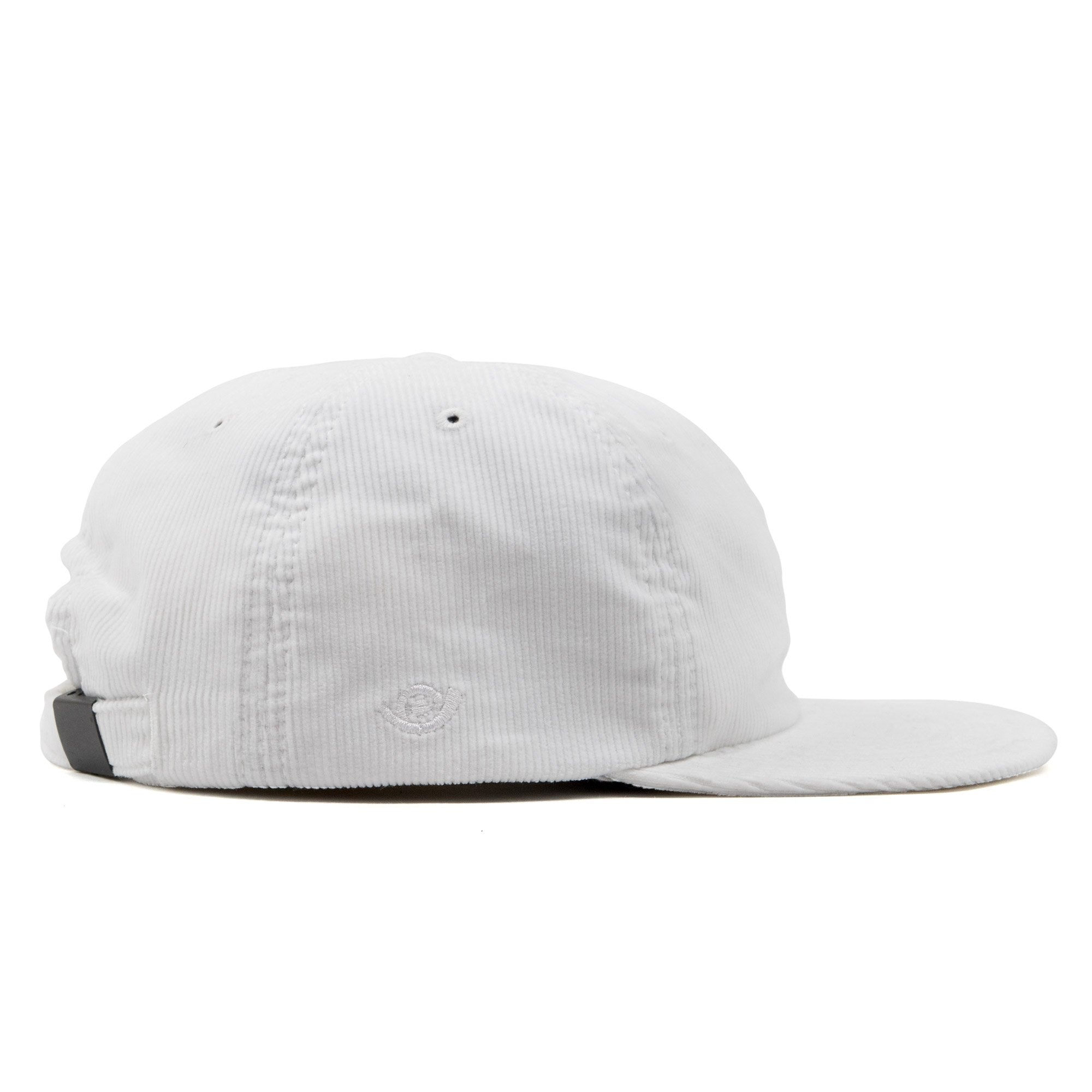 Rose Six panel cap White