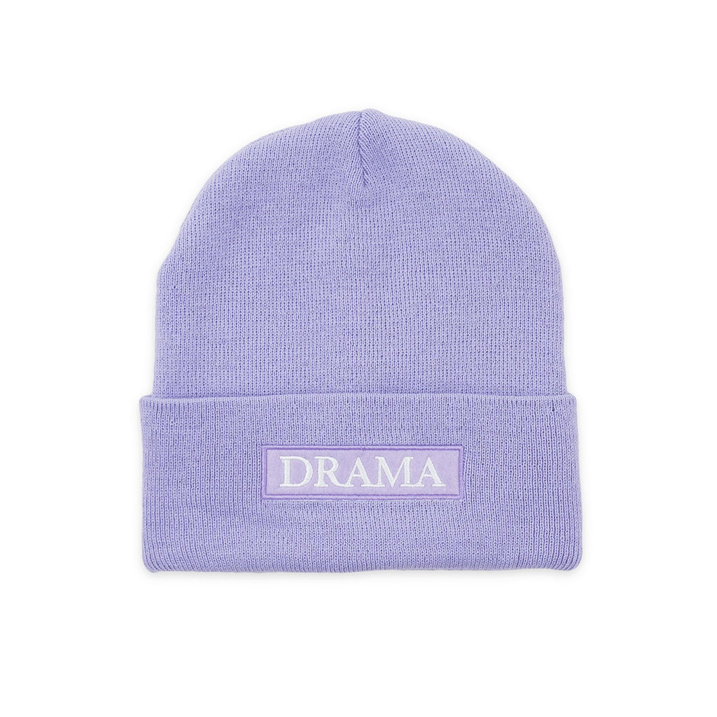 POST DRAMA CLUB BEANIE PURPLE