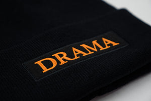 Post Drama Club Beanie Black