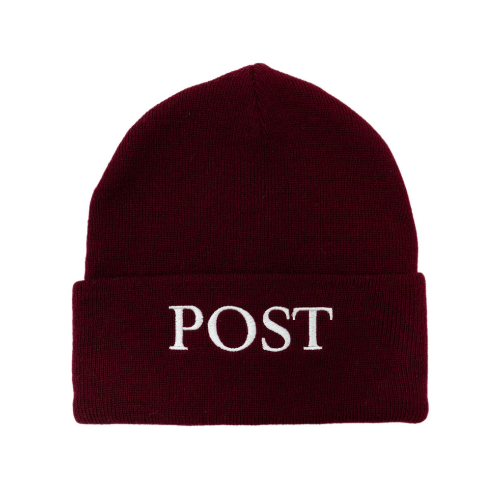 Post Labor Beanie Burgundy