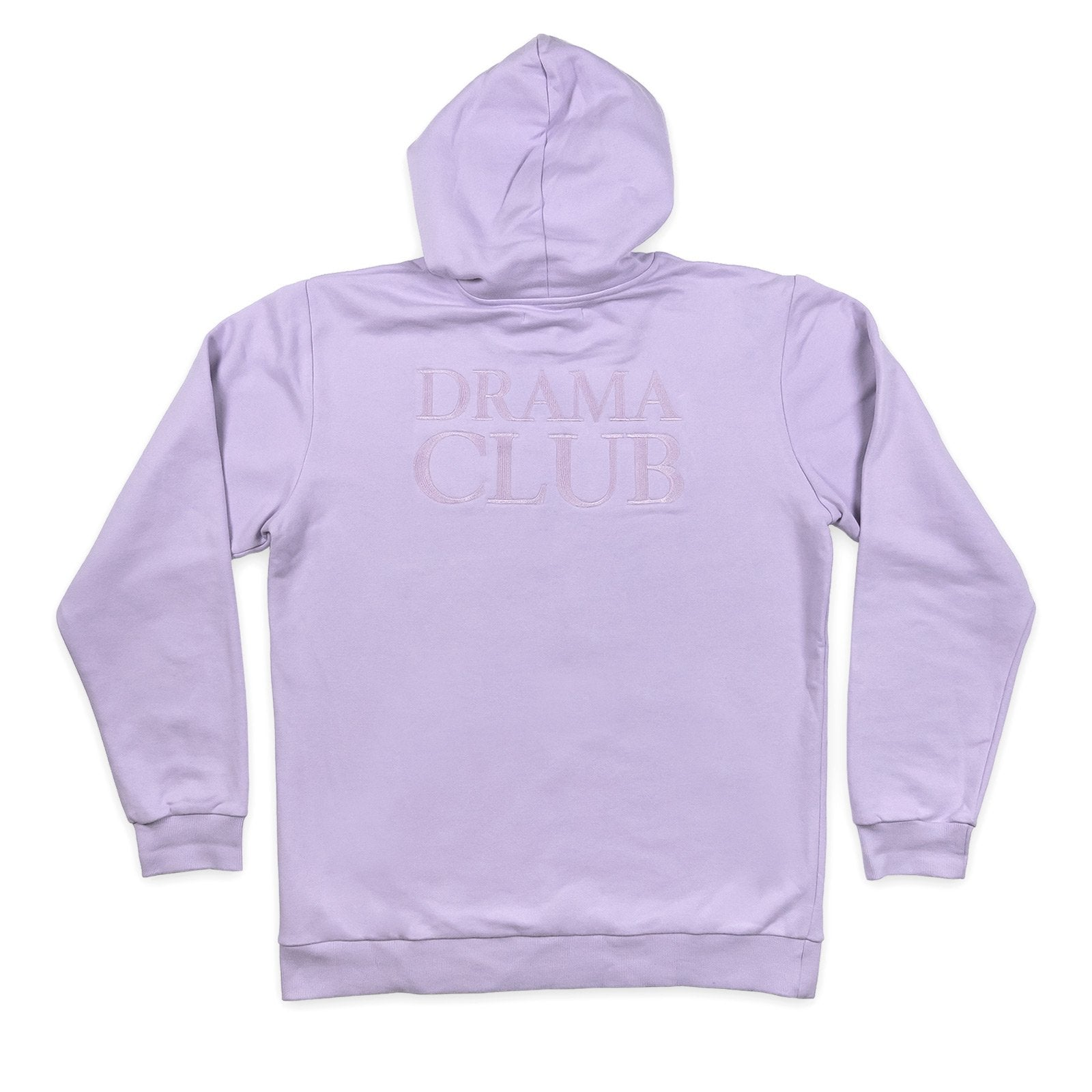 POST DRAMA CLUB HOODIE PURPLE