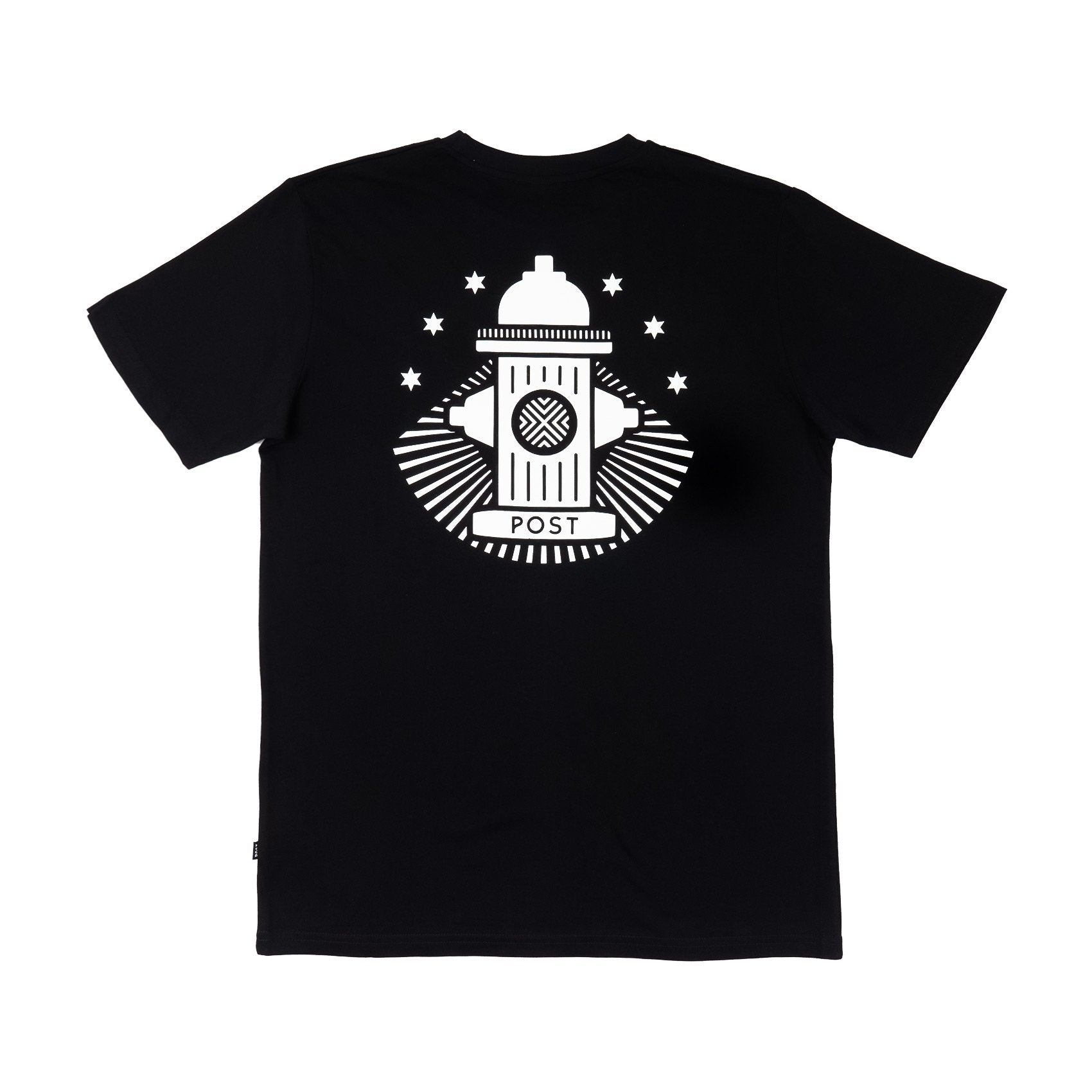 Post No Bills Hydrant T-shirt Black