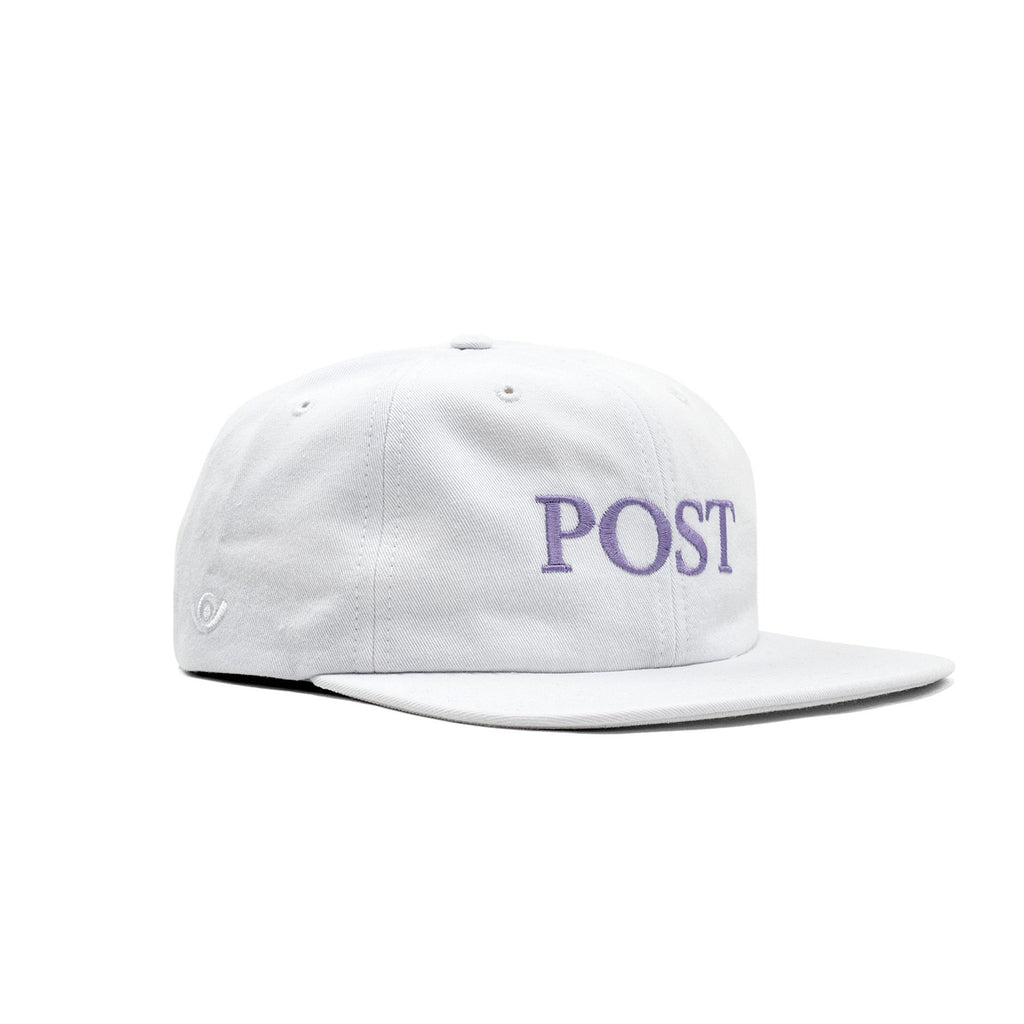 POST DRAMA CLUB CAP WHITE