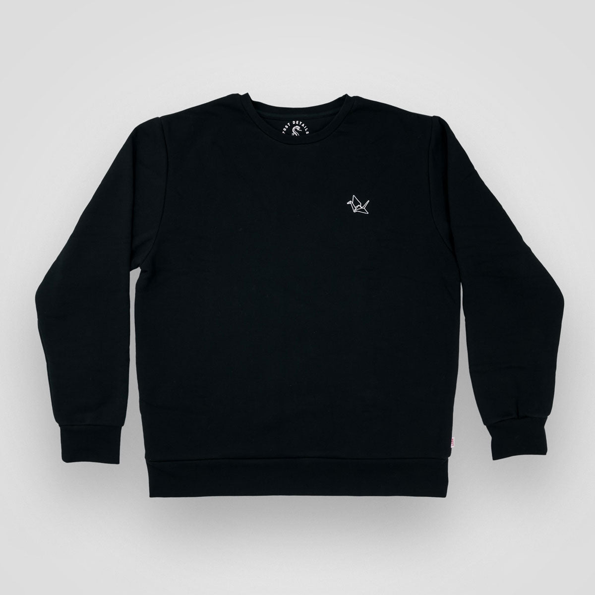 Almost Dead Origami crew neck - Black