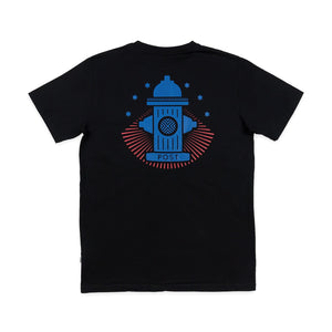 Post Shuffleboard Hydrant tee Black