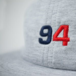 Six panel cap - Post REdecades - Class of 94 - Heather grey