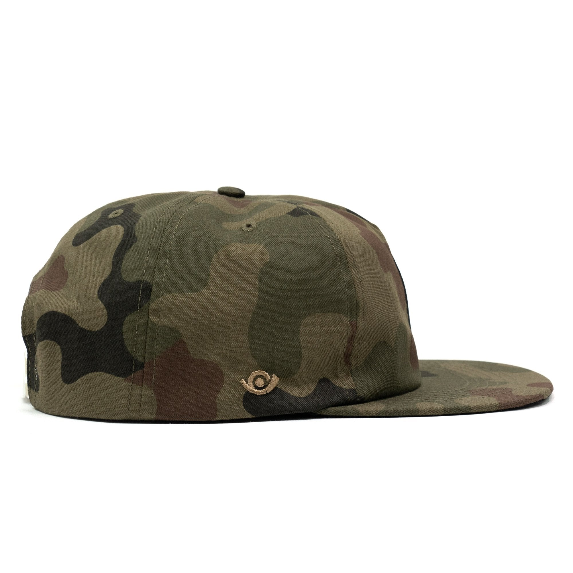 Deconstructed Hydrant Snapback Cap Camouflage