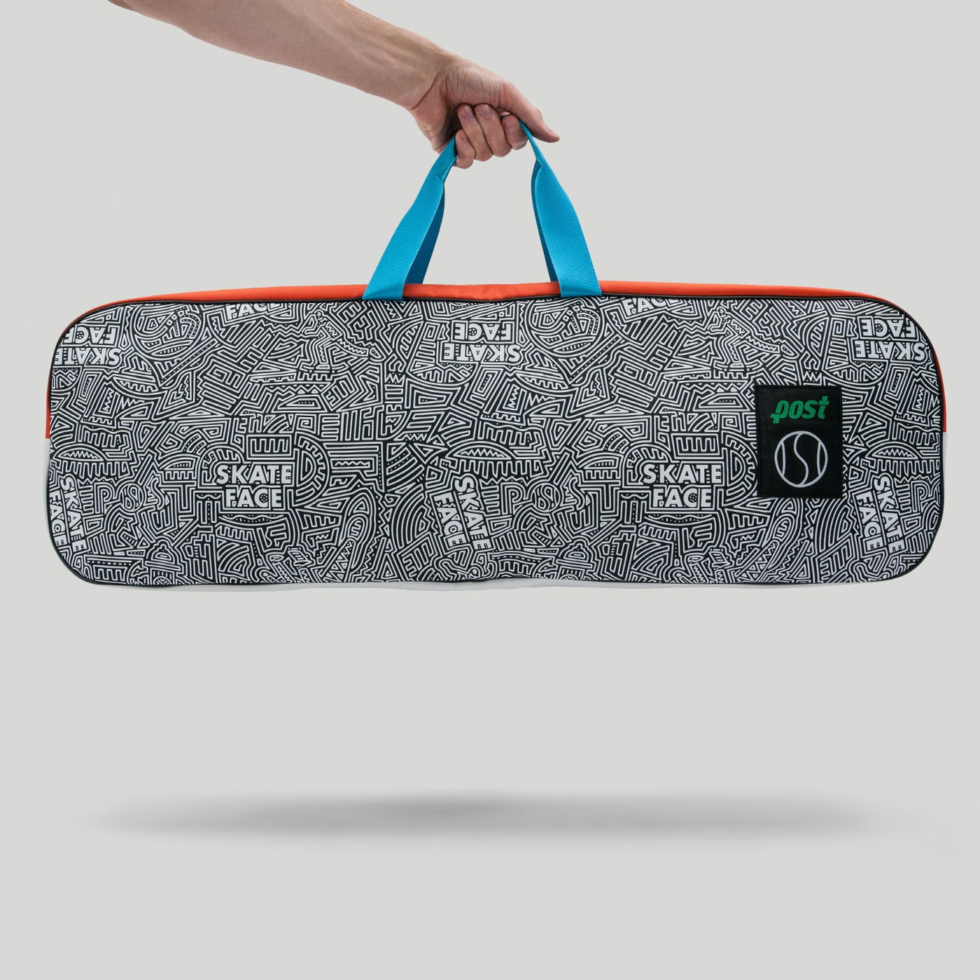 Post Tennis Anyone Skate Face Board Bag