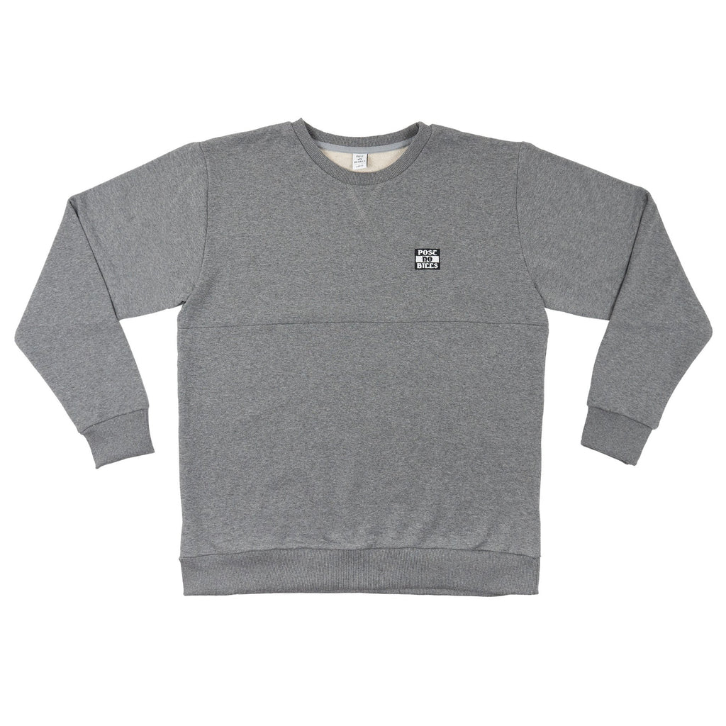 Post No Bills Crewneck Sweatshirt Grey