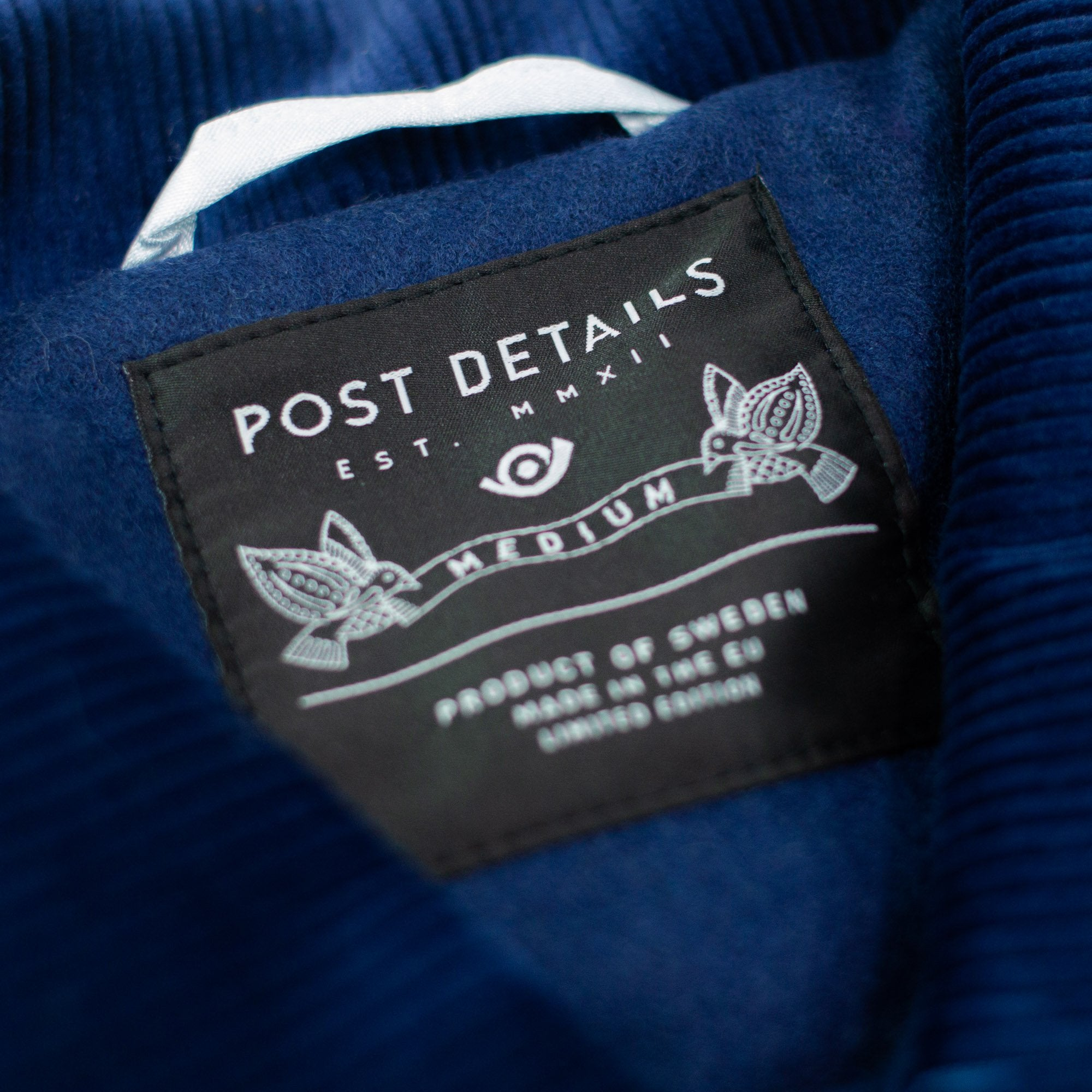 Wool Hydrant Coach Jacket Navy