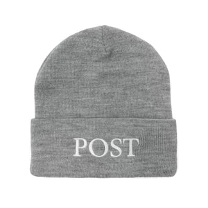 Post Labor Beanie Grey