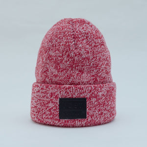 Post classic beanie heather edition - Red