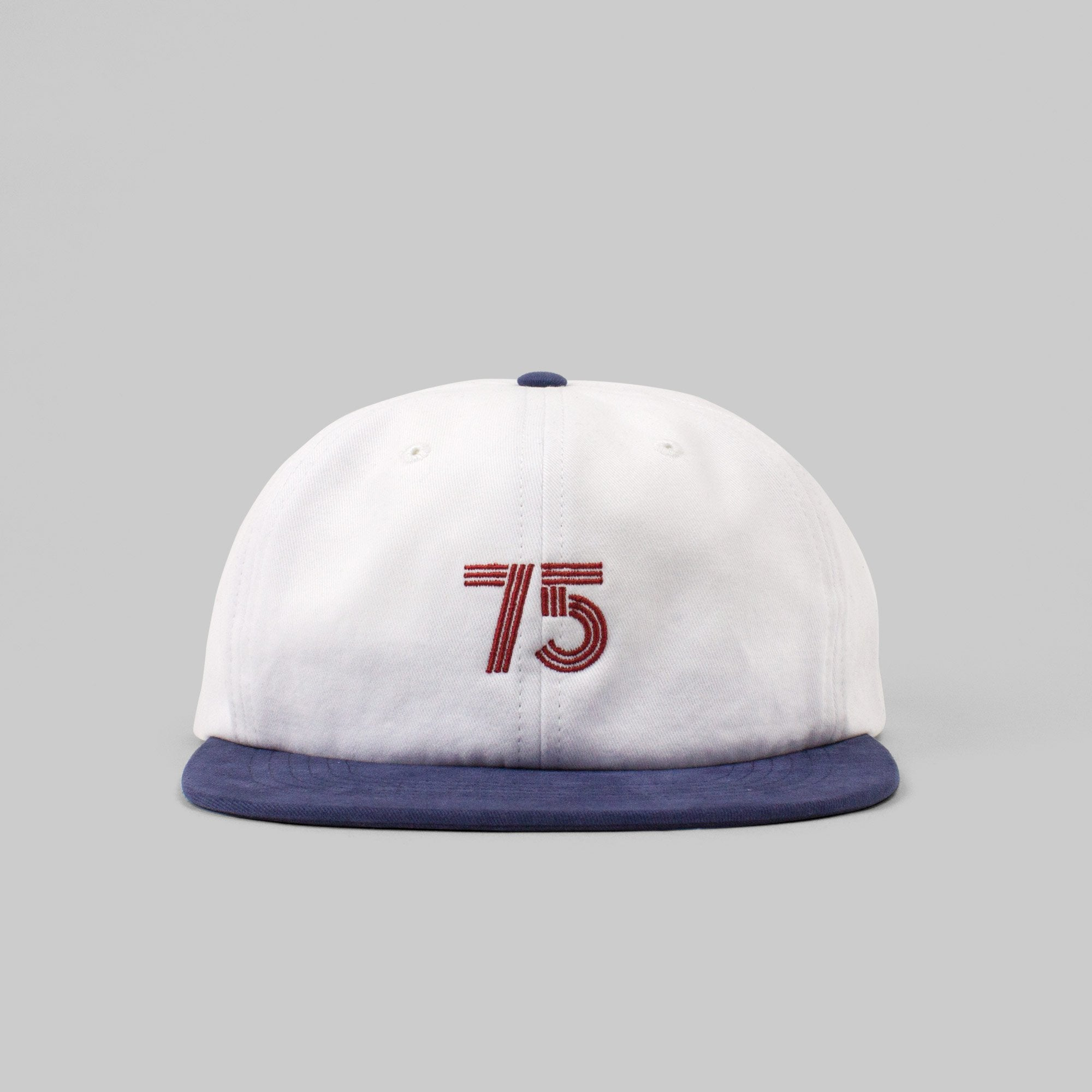 Six panel cap - Post REdecades - Class of 75 - White/navy