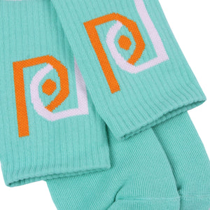 Post Candy Socks Aqua