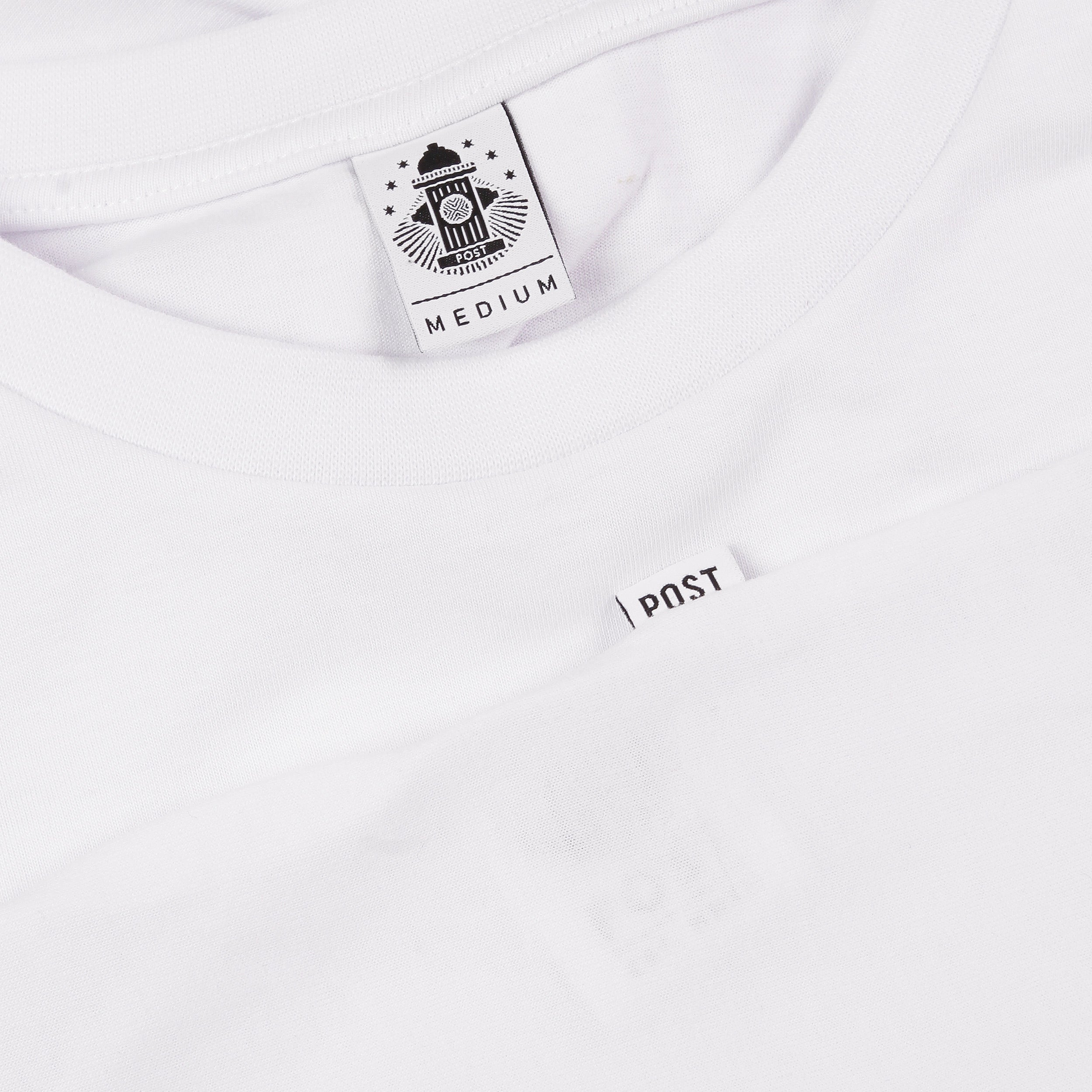 Post Kitsch Two T-shirt White