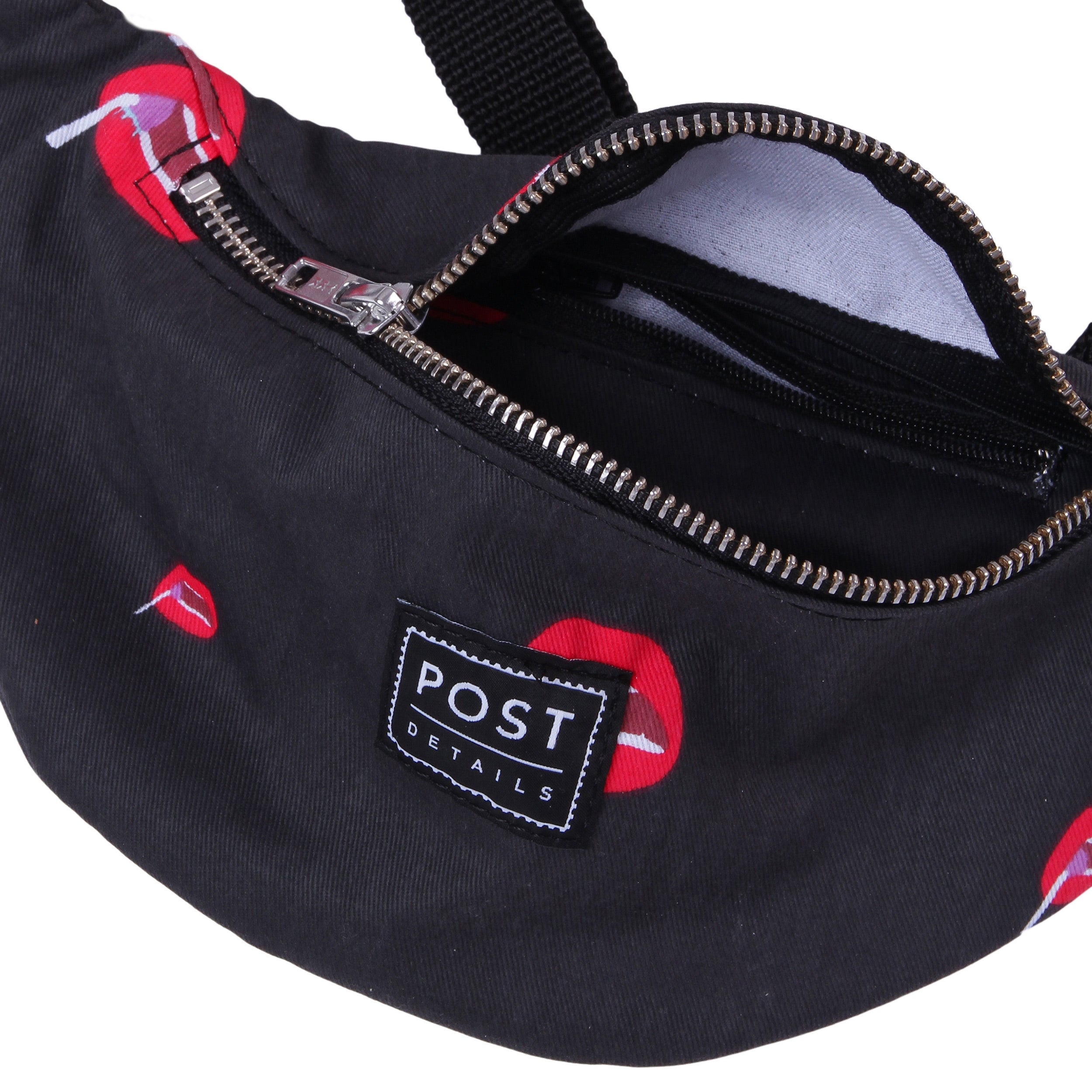Post Kitsch Hip Bag Black