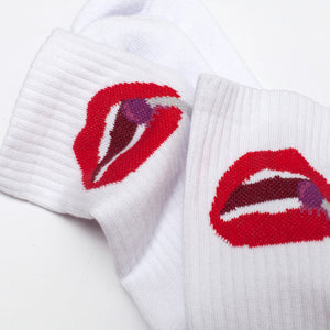 Post Kitsch Socks White