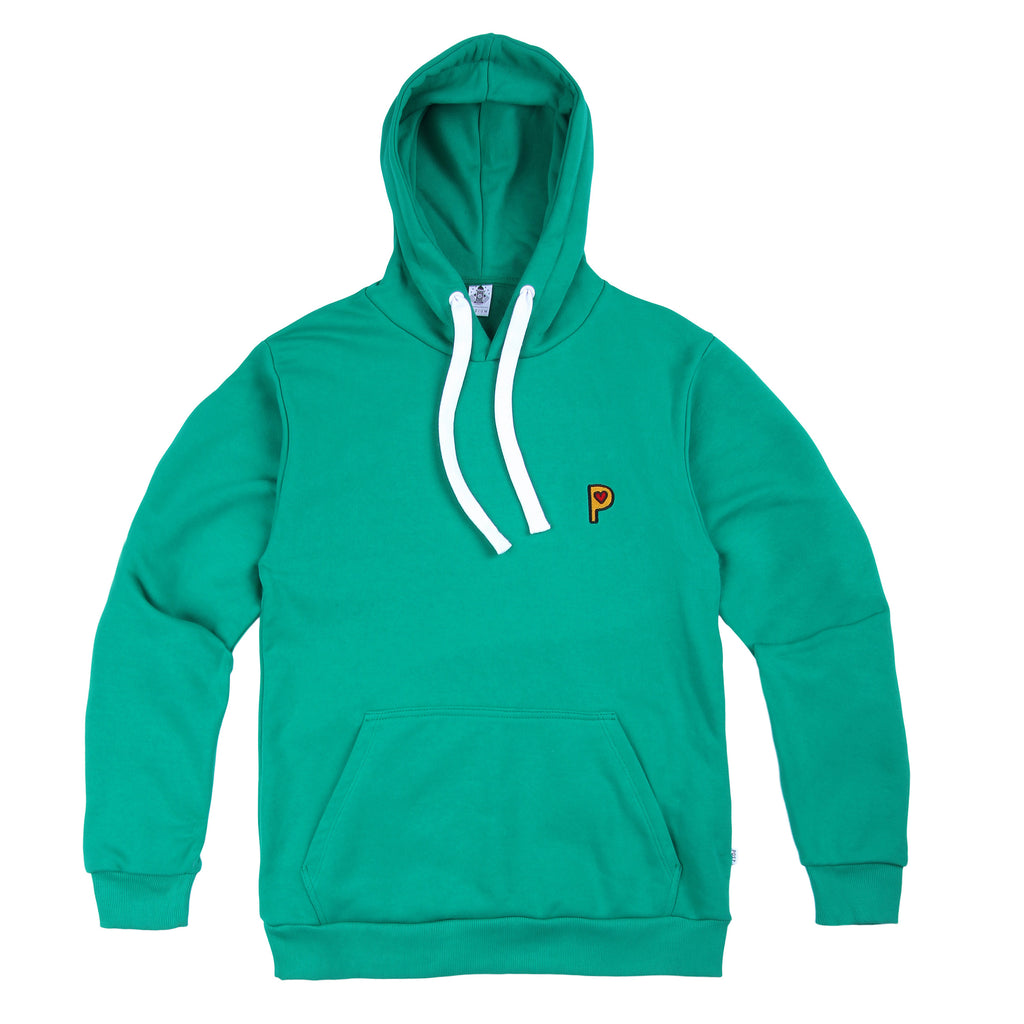 Post Pop P Hooded Sweatshirt Green