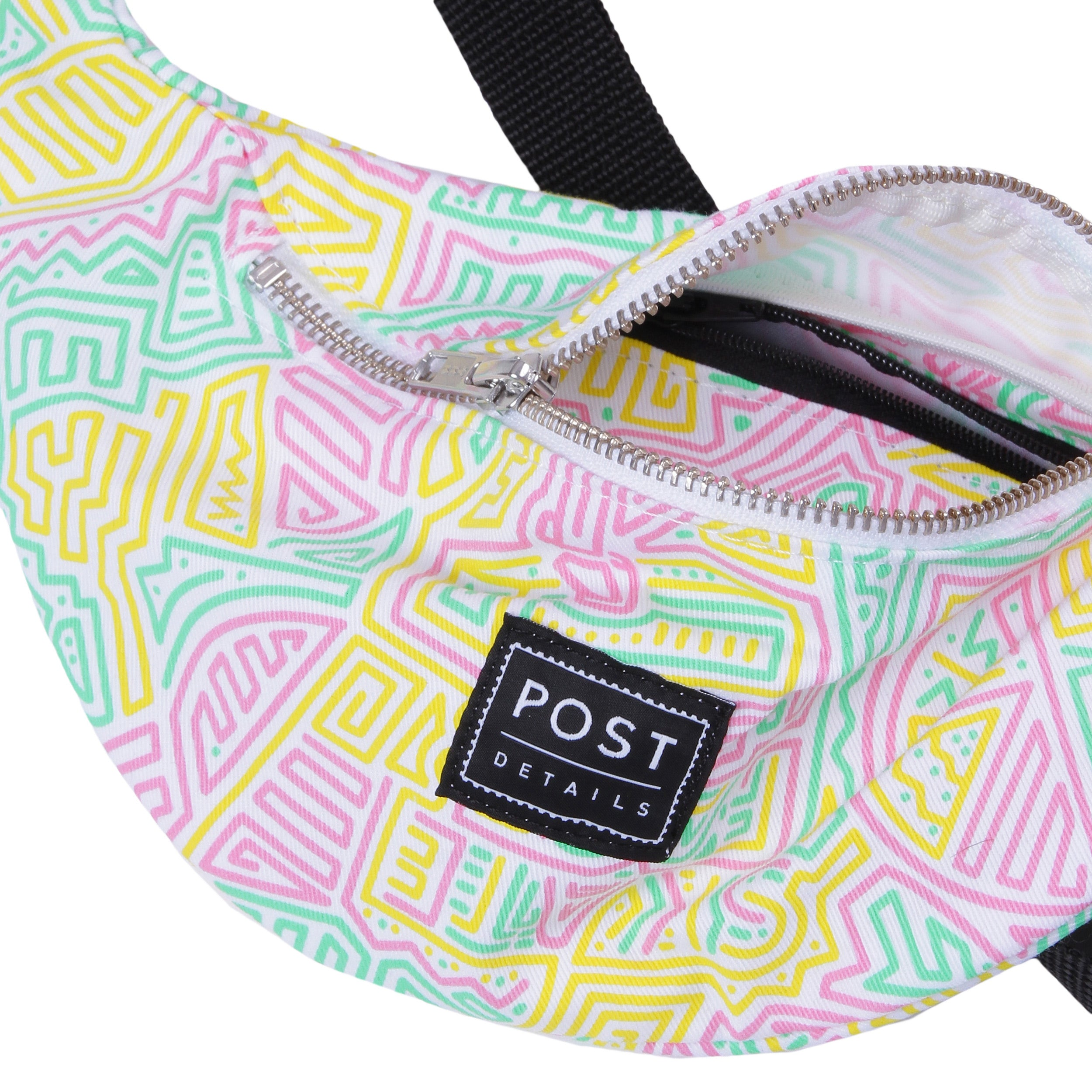 Post Skate Face Multicolor Hip Bag