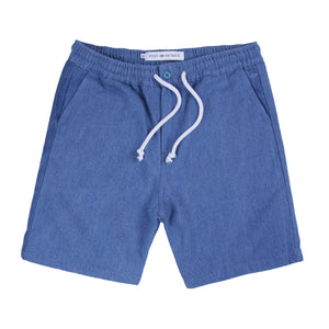 Post Skate Face Leisure Leisure Shorts Stonewashed Blue