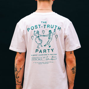 Disinformation Division Post truth T-shirt White