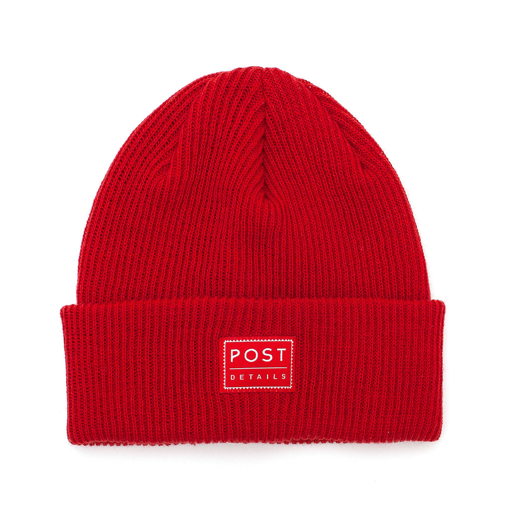 ABC Classic Beanie V7 - Scarlet Red