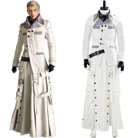 Final Fantasy VII FF7 Remake Rufus Shinra Cosplay Costume