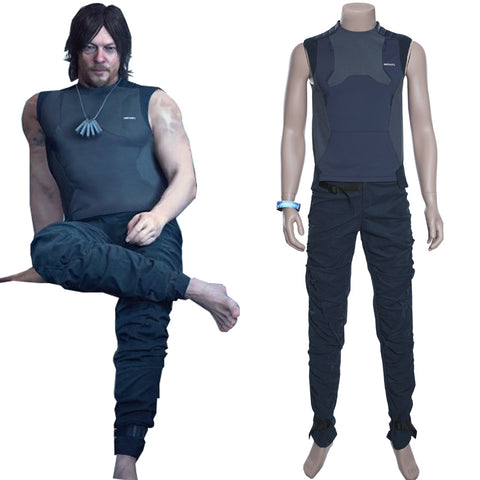 Death Stranding Sam Porter Bridges Cosplay Costume Ver.2