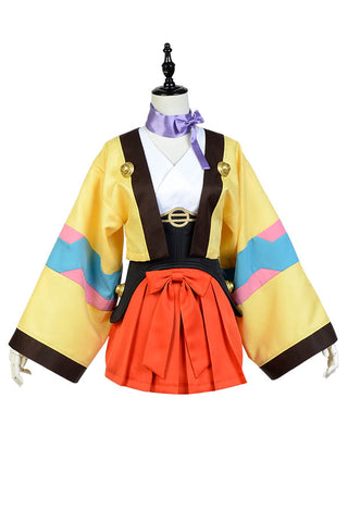 Kabaneri of the Iron Fortress Mumei Kimono Cosplay Costume