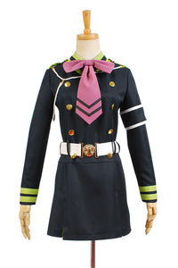 Seraph of the End Shinoa Hiragi Uniforme Cosplay Costume