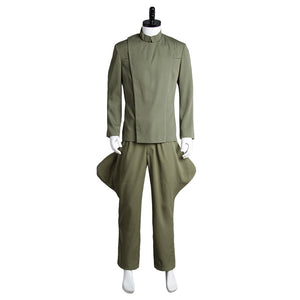 Star Wars Imperial Officer Cosplay Costume Uniforme Vert