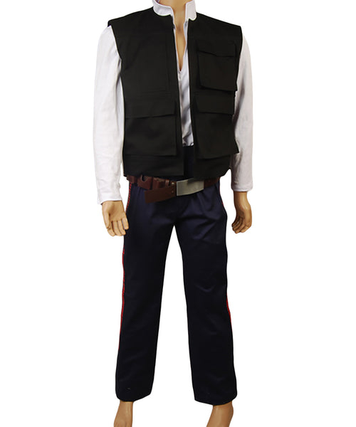 Star Wars ANH A New Hope Han Solo Costume de Coaplay