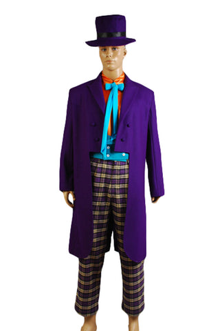 Batman Joker Jack Nicholson Costume de Cosplay