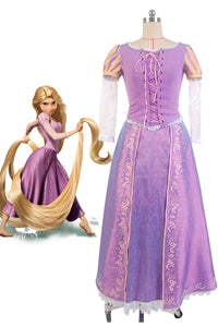 Raiponce Princess Rapunzel Robe Cosplay Costume