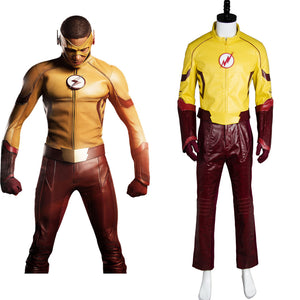 Young Justice Season 2 Flash Outfit Cosplay Costume
