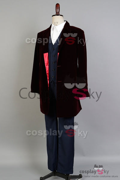 Doctor Who 12th Doctor Peter Capaldi Tenue Cosplay Costume