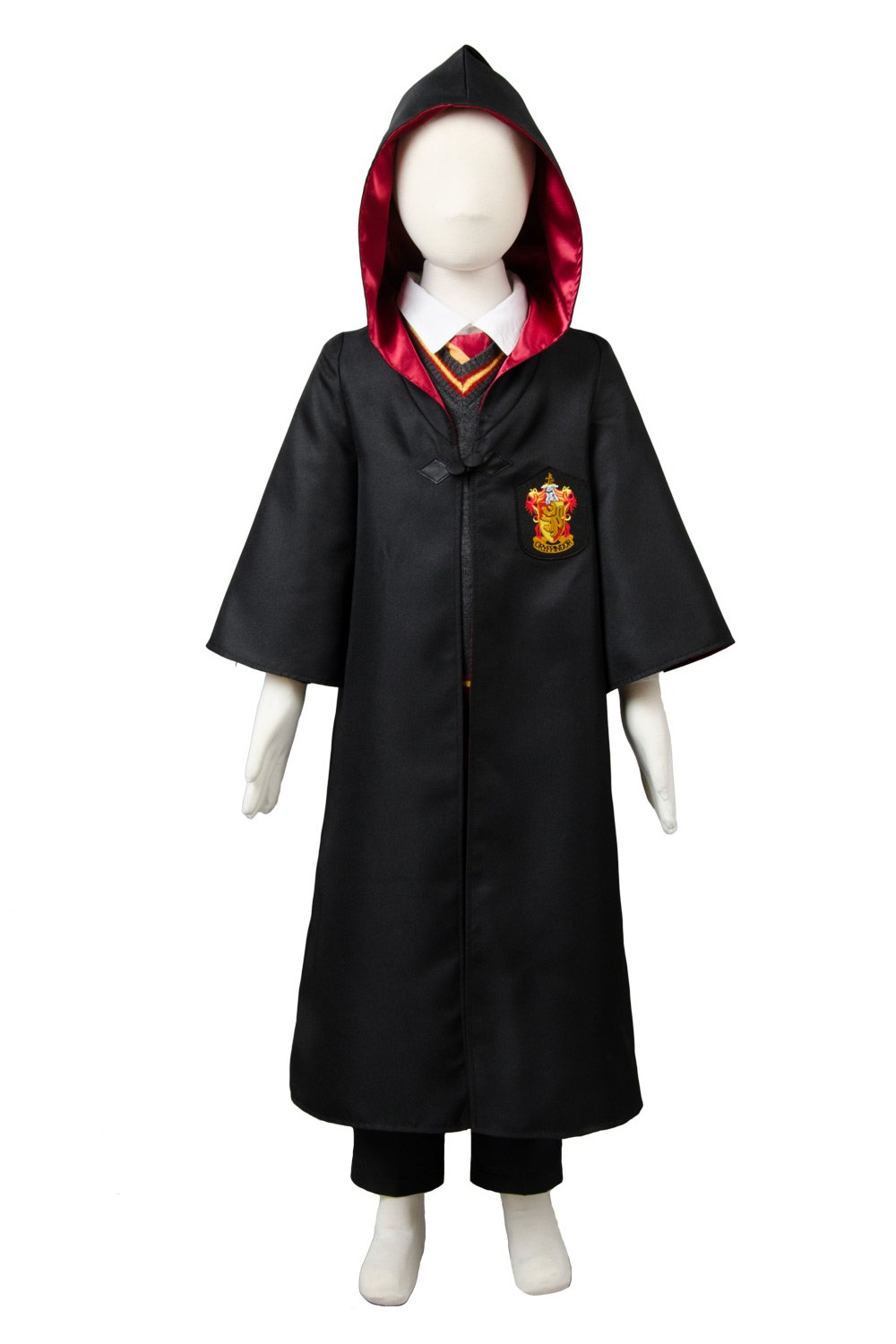 Harry Potter Gryffindor Robe Uniforme Harry Potter Cosplay Costume Pour Enfant