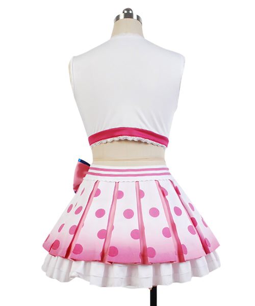 LoveLive! Yazawa Niko Cheerleaders Uniforme Cosplay Costume