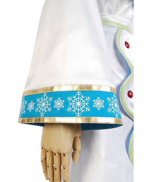 Vocaloid Snow Miku Robe Cosplay Costume