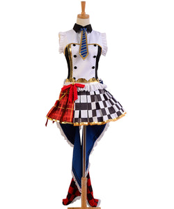 LoveLive! Rin Hoshizora Servante de Cafe Uniforme Cosplay Costume