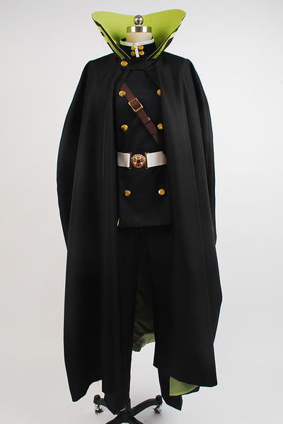 Seraph of the End Yūichirō Hyakuya Uniforme Cosplay Costume