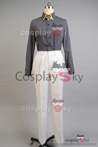Seraph of the End Vampires Mikaela Hyakuya Cosplay Costume + Perruque + Chaussures