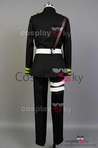 Seraph of the End Yoichi Saotome Uniforme Cosplay Costume