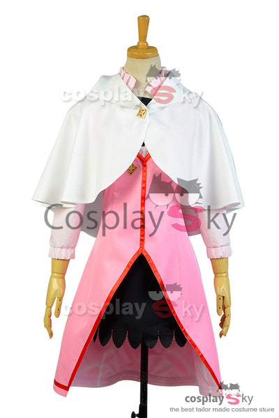 Shirayuki aux cheveux rouges Shirayuki Robe Cosplay Costume