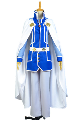 Shirayuki aux cheveux rouges Zen Wistalia Cosplay Costume