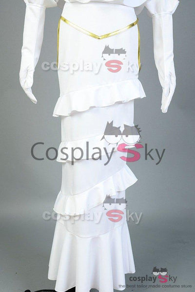Overlord Albedo Robe Blanche Cosplay Costume