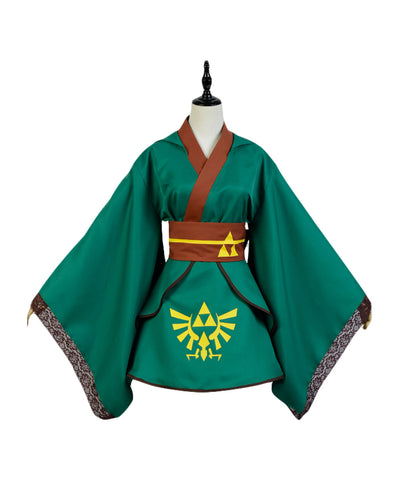 The legend of Zelda Link Cosplay Costume Version Lolita