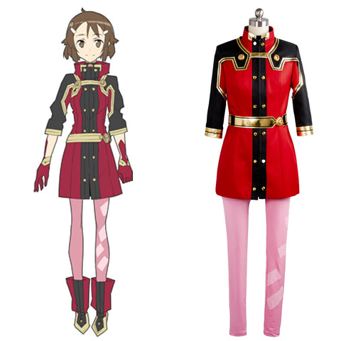 SAO Sword Art Online the Movie Ordinal Scale OS Lisbeth Shinozaki Cosplay Costume