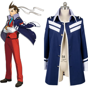 Gyakuten Saiban 4 Apollo Justice: Ace Attorney Polly Seulement Manteau Cosplay Costume